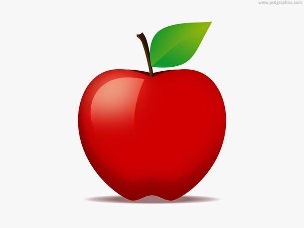 apple fruit flat design - Google-Suche