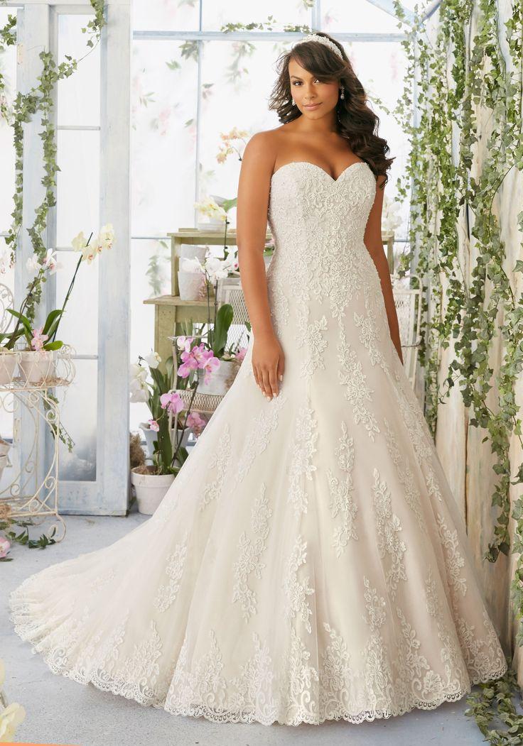 237 besten Plus size wedding dresses Bilder auf Pinterest ...