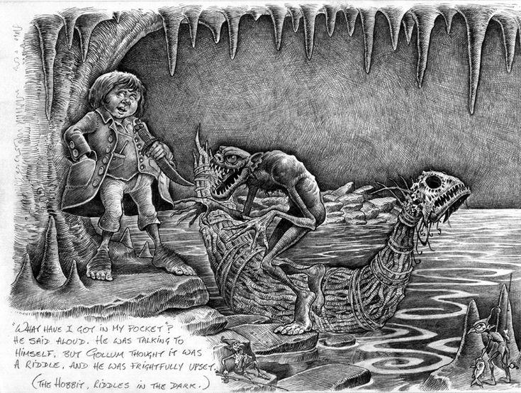 Riddles in the dark Douglas Carrel. Art station
