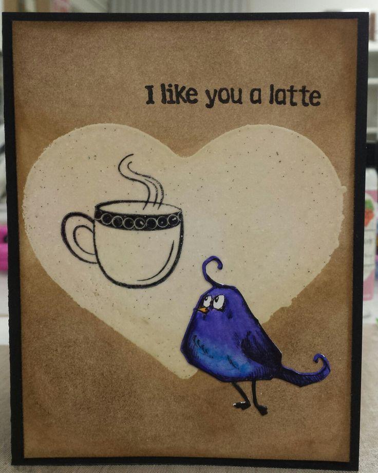 A little Crazy Bird love  #tmcanada #timholtz #crazybird #valentinecard #valentinesday #shopkamloops #lovemyjob #quirkykindalove #lovemycoffee
