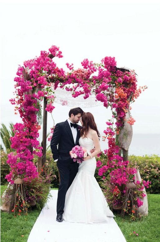 bougainvillea bouquet wedding - Google Search