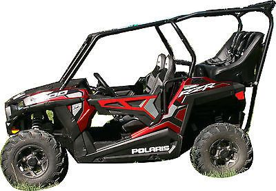 Polaris RZR 900 2015 S & Trail Back Seat and Roll Cage Kit (Kit + 2 Accessories + FREE Shipping)