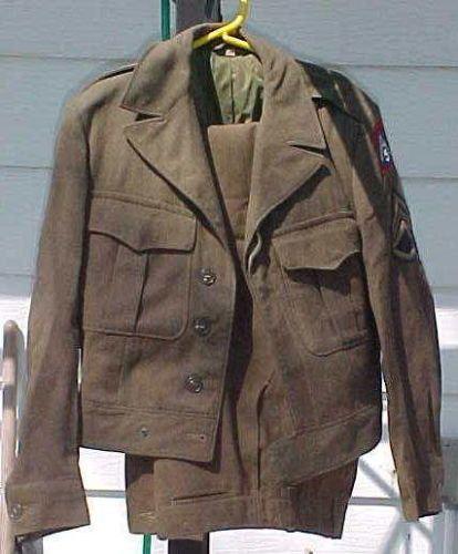Bod vintage air force uniform seen this