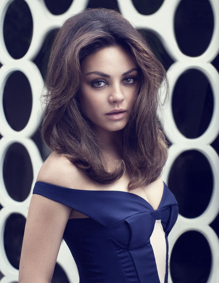 so naturally beautiful!!!! Mila Kunis is 60s Glam in Elle UKs August Cover Shoot by Doug Inglish
