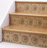 One Step Beyond - Decorative Stair Riser Photo Gallary - Design Ideas