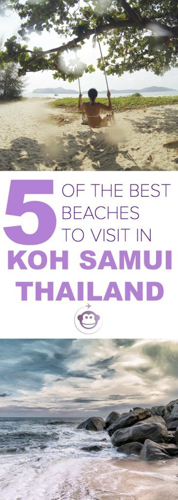 Five of the Best Beaches to Visit in Koh Samui in Thailand | Thailand | Koh Samui | Beach Destinations | Family Travel | Travel with Kids | South East Asia | Islands #beach #inspiration #destination #thailand