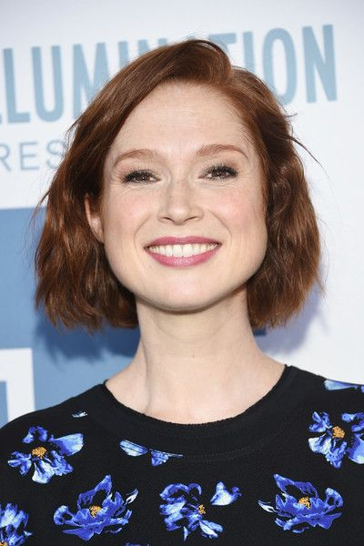 Ellie Kemper Short Wavy Cut - Ellie Kemper styled her short locks into a wavy bob for the New York premiere of 'The Secret Life of Pets.'