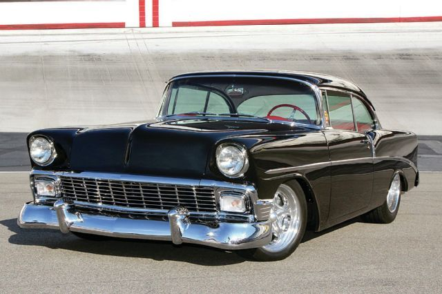 1956 Chevrolet 210 Sport Coupe American Flyer Cool