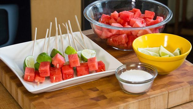 Watermelon Tequila Shots Recipe : Food Network