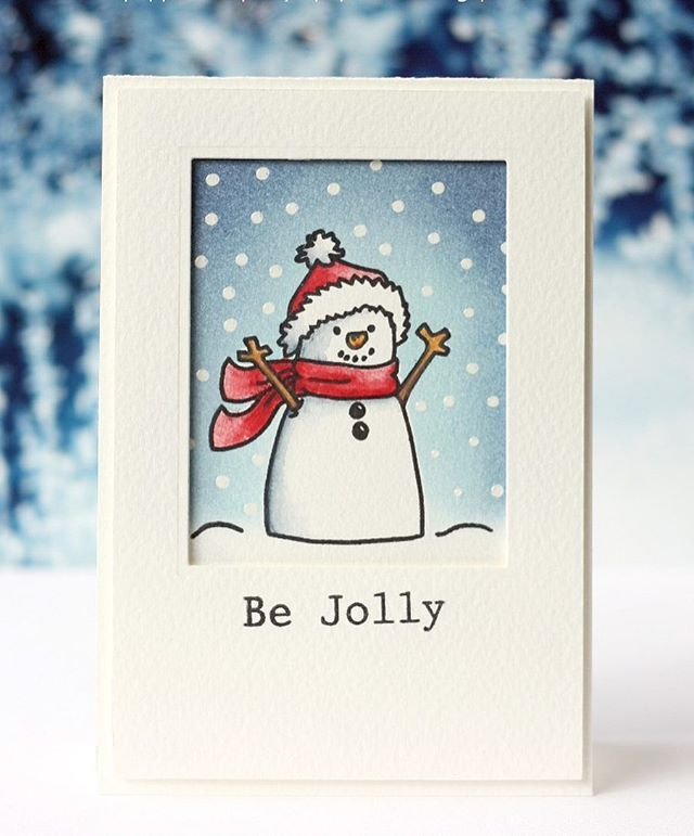 I'm in love with this snowman from Avery Elle! #averyelle #snowman #bejolly