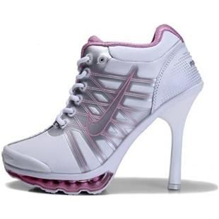 http://www.asneakers4u.com/ Nike Air Max High Heels Pink White