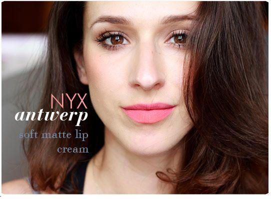 *พร้อมส่ง* NYX Soft Matt Lip Cream - Antwerp สีชมพูคอรัล - Paula's Choice เครื่องสำอางค์และสกินแคร์สุดฮิตจาก USA อยากหน้าใส ไร้สิว ต้อง Paula's Choice by BestSkinChoice www.bestskinchoice.com Mario Badescu, Cellular Skin Rx, Queen Helen, OPI, Bath and Body works, Victoria Secret,CrabTree & Evelyn :[Powered by Weloveshopping.com]