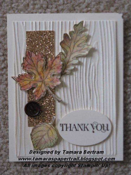 Falling Leaves - Stampin' Connection