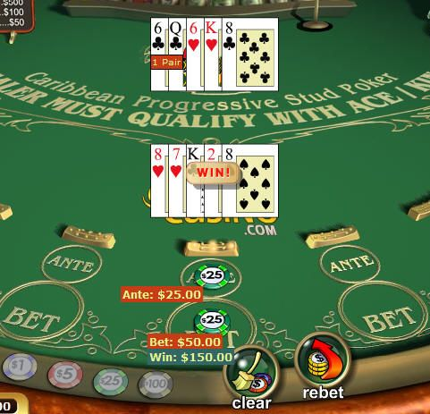 play free slot machines online caribbean stud