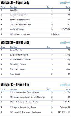 Best 25+ Workout programs for men ideas on Pinterest | Muscle ...