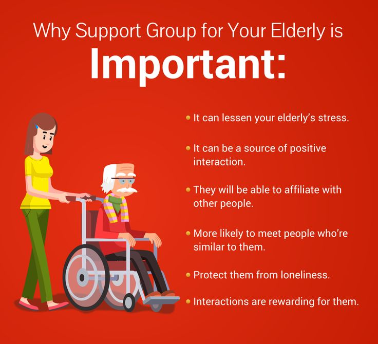 [INFOGRAPHIC] Why Support Group for Your Elderly is Important #seniorcare #supportgroup