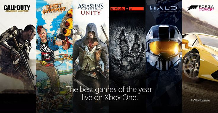 Xbox One games lineup 2014-15 and release dates • Pureinfotech