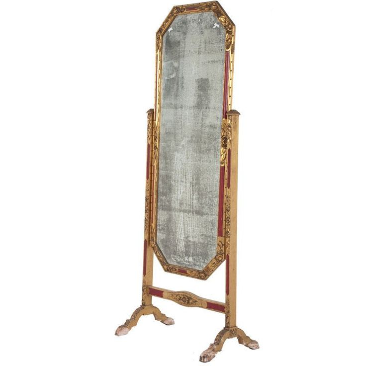Antique Floor Length Mirrors | Antique Cheval Mirror at 1stdibs