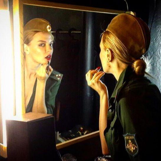 Marina Orlova - in the Army ;)