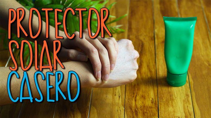 Cómo hacer Protector Solar Casero y Natural - Cuidados de la Piel - Catwalk - YouTube