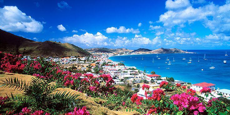 Philipsburg, the capital of Dutch St. Maarten,