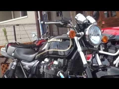 黒とゴールドのいなせな750 Z2 750RS ゼファー750 ZR750 カワサキ・ゼファー ZEPHYR750 Z1 - YouTube