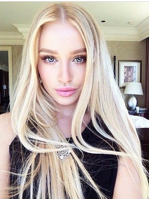 Girls Pinterest Makeup Blondes And Face