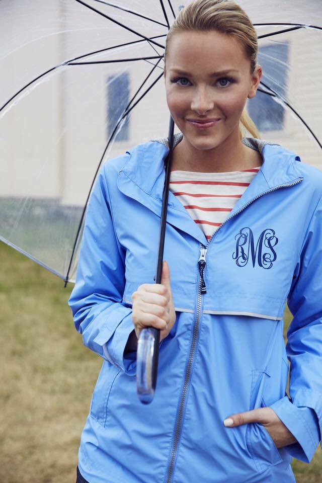 Do these April showers have you feeling blue?  Grab one of Charles River rain jackets in a fun bright color and turn your frown upside down 🤗 Shop:  #monogram #monogrameverything #monogrammedjacket #MondayBlues #charlesriverapparel #aprilshowers #southerngirlthreads