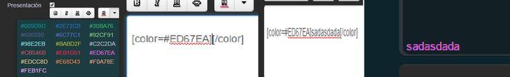 ¿Como poner textos de colores en el foro de transformice?