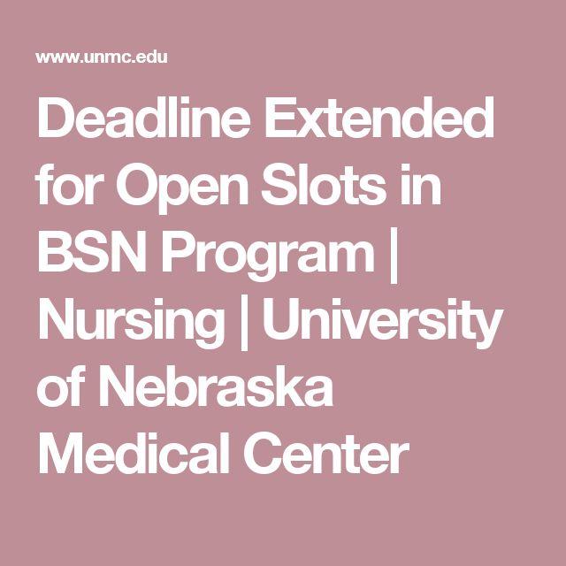 Deadline Extended for Open Slots in BSN Program | Nursing | University of Nebraska Medical Center