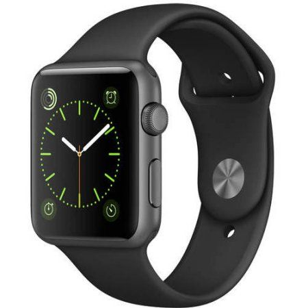 Apple Watch Sport 42mm, Refurbished, Black