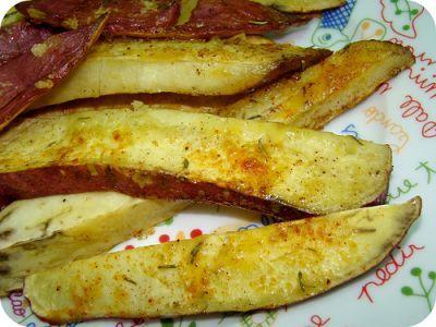Receitas - Batata doce assada com especiarias - Petiscos.com
