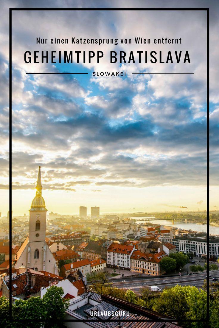 Wart ihr schon mal in Bratislava, der Hauptstadt der Slowakei? Nein? Dann wird es Zeit, denn die lebendige Stadt hat nicht nur einiges zu bieten, sie liegt auch nur einen Katzensprung von Österreichs Haupstadt Wien entfernt. Was ihr in Bratislava erleben könnt, lest ihr in meinen Tipps. #vienna #travel #geheimtipp #europe #tipps #travelblogger