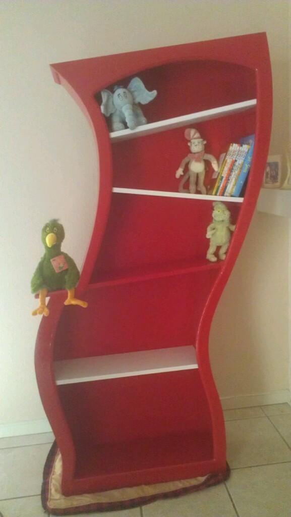 Painted Dr. Seuss Bookshelf. $750.00, Via Etsy. Classroom FurnitureBaby ...