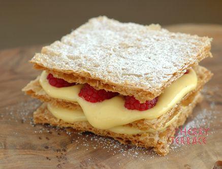 おいしく・楽しく❤ -お菓子ミルフィーユの簡単な作り方