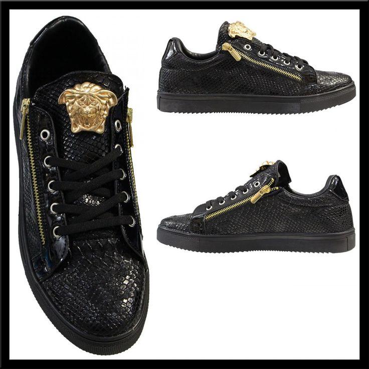 Heren Python Sneakers Zwart HCS112 | Modedam.nlDe mooiste heren schoenen bestelt u in onze winkel. Bij ons vindt u verschillende betaalbare sneakers, nette schoenen en sport schoenen. U vindt gegarendeerd de exclusieve schoenen die u outfit compleet maakt. Bekijk ons collectie!!! Er is vast wel een