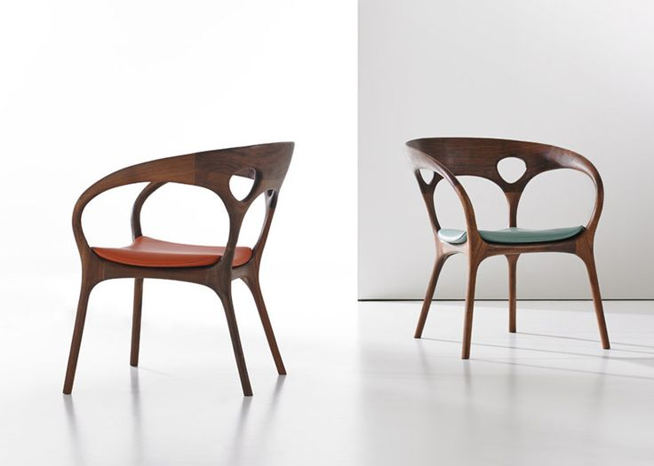 Chair Furniture Design: Ross Lovegrove Has Designed His First Wooden Chair To Mark