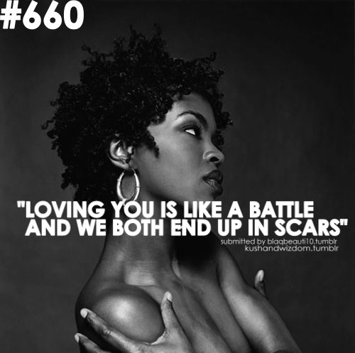 Ex-Factor, man I used to lay in bed singing this song with the cd on repeat in '99.  - lauryn hill