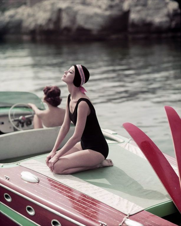 boat time | #splendidsummerJohn Rawlings, French Fashion, Vintage Boats, Vintage Summer, Luxury Travel, George Dambier, Bath Beautiful, French Riviera, Photography