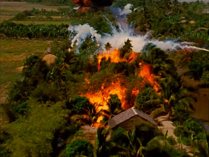 Napalm Attack during the Vietnam War