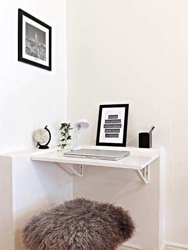 die besten 25+ platzsparender schreibtisch ideen auf pinterest ... - Designer Arbeitstisch Tolle Idee Platz Sparen