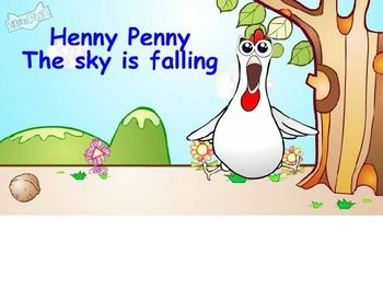 Henny Penny: The sky is falling recall, writing prompts