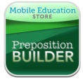Preposition Builder iPad App from Mobile Education Tools-reinforces preposition use within sentences. From OT's with Apps. Pinned by SOS Inc. Resources @sostherapy.