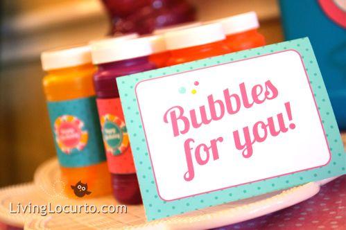 Party favors!: Bubbles Birthday Parties, Candy Buffet, Bubble Birthday Parties, For Kids, Parties Favors, Birthday Parties Ideas, Buffet Ideas, Birthday Ideas, Bubbles Parties