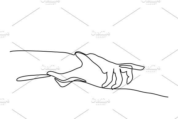 Line Drawing Holding Hand Continuous Line Drawing Line Drawing Holding Hands Drawing