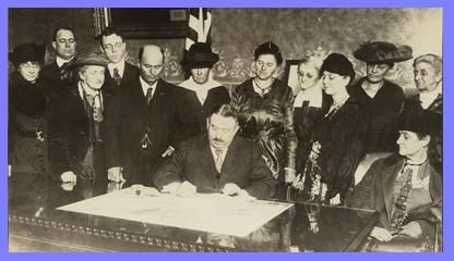Tennessee was the first state to ratify the 19th Amendment