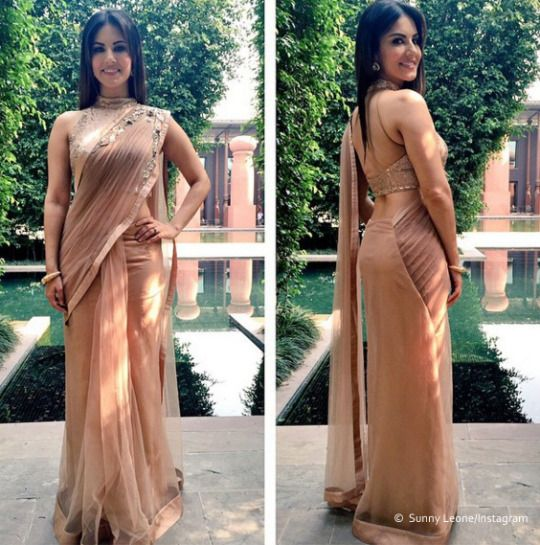 10 times Sunny Leone truly rocked the traditional look - Yahoo Celebrity India