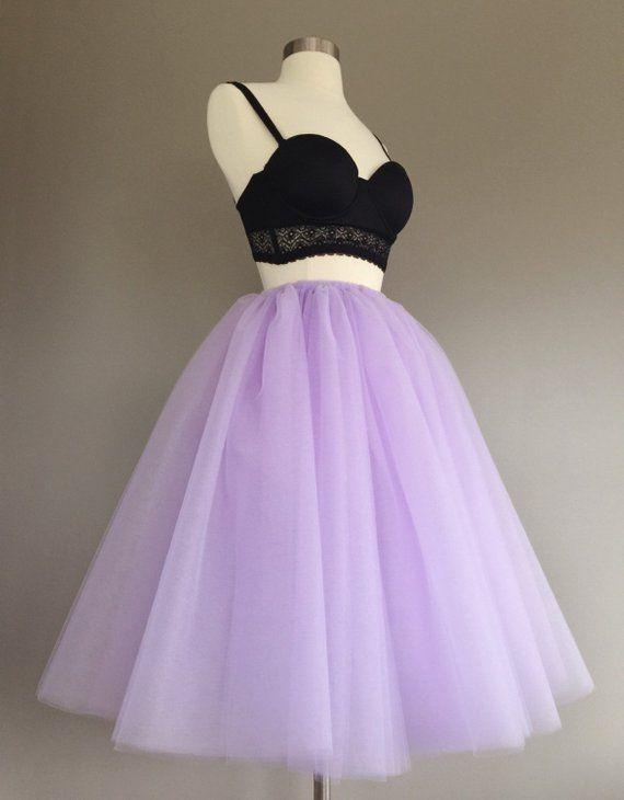 03978980346e3 Tulle skirt- adult tutu, lavender tutu- lavender tulle skirt- lilac ...