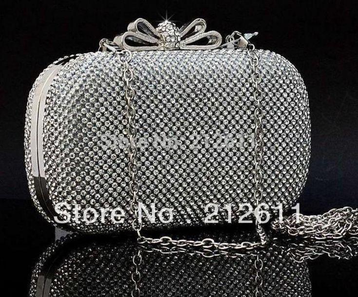 £19.99 Women's Wristlets Silt Pocket Mini(<20cm) Interior Slot Style of Full Diamond
