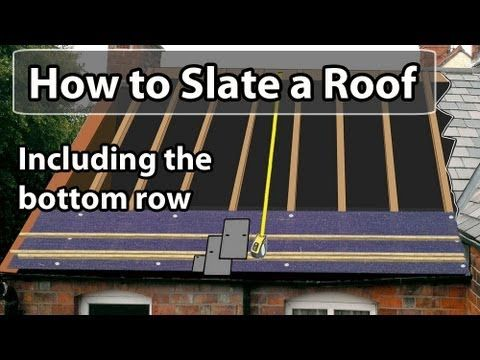 How to CUT SLATE - How to cut slates Thick or Thin DIY or Trade - YouTube